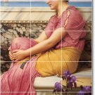 Godward Women Room Mural Wall Tiles Idea Residential Decorating