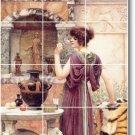 Godward Women Wall Dining Murals Room Remodeling Interior Ideas