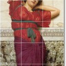 Godward Women Shower Wall Wall Murals Contemporary Construction