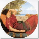 Godward Women Dining Tiles Mural Room Contemporary Renovations
