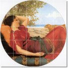 Godward Women Room Dining Mural Tiles Renovations Contemporary