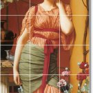 Godward Women Tile Shower Mural Bathroom House Renovate Design