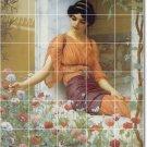Godward Women Floor Murals Kitchen Remodeling Residential Idea