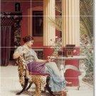 Godward Women Dining Room Floor Tiles Home Traditional Remodel