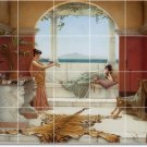 Godward Women Wall Murals Bedroom Contemporary Remodeling Home