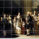 Goya Historical Shower Mural Tiles Modern Interior Renovation