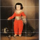 Goya Children Tile Murals Backsplash Decorate Home Renovations