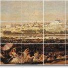 Goya Landscapes Shower Tiles Mural Modern Renovation Interior