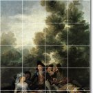 Goya People Wall Mural Shower Bathroom Wall Home Ideas Renovate