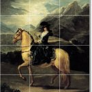 Goya Horses Wall Mural Wall Bathroom Shower Renovate Ideas Home