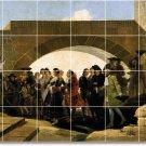 Goya People Wall Shower Bathroom Mural Tiles Construction Ideas