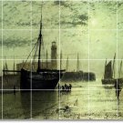Grimshaw Waterfront Wall Mural Room Dining Renovate House Design
