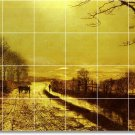 Grimshaw Country Room Mural Tile Interior Idea Design Remodeling