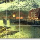 Grimshaw Waterfront Mural Room Dining Wall Design Renovate House