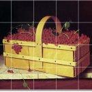 Harnett Fruit Vegetables Tile Room Idea Remodeling House
