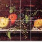 Harnett Fruit Vegetables Tiles Kitchen Mural Commercial