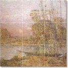 Hassam Country Murals Wall Tile Dining Room Remodeling House Idea