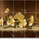 Heade Flowers Wall Bedroom Floor Mural House Renovation Modern