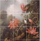 Heade Birds Kitchen Backsplash Mural Tile Modern House Decorate
