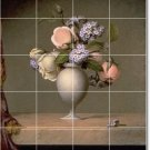 Heade Flowers Wall Floor Bedroom Mural Renovation House Modern