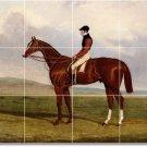 Herring Horses Mural Backsplash Tile Kitchen Floor Design Modern
