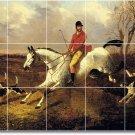 Herring Horses Mural Tile Kitchen Backsplash Design Modern Floor