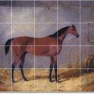 Herring Horses Mural Tile Backsplash Kitchen Design Floor Modern