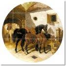 Herring Horses Room Living Tiles Remodeling Interior Traditional
