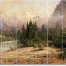 Hill Landscapes Backsplash Mural Tile Kitchen Art Residential