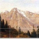 Hill Landscapes Tile Murals Room Idea Renovations Home Design