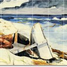 Homer Waterfront Kitchen Mural Tiles Backsplash Remodel Home Art