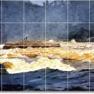 Homer Waterfront Living Mural Room Tiles Wall Remodel Home Decor