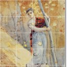 Homer Women Wall Tile Backsplash Kitchen Ideas Interior Remodel