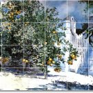 Homer Garden Tile Dining Room Mural Design Interior Renovations