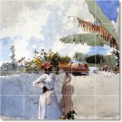 Homer Waterfront Bedroom Tiles Mural Mural Wall Decor Decor Home