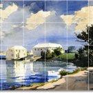 Homer Waterfront Tiles Floor Bedroom Mural Interior Design Decor