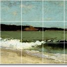 Homer Waterfront Mural Wall Dining Room Tile Remodel Home Modern