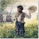 Homer Country Tile Murals Wall Bathroom Home Modern Decorating