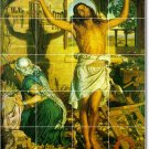 Hunt Religious Murals Tile Backsplash Home Construction Decorate