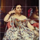 Ingres Women Tiles Room Mural Interior Contemporary Renovations