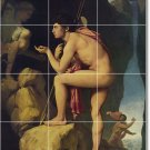 Ingres Mythology Tile Room Dining Floor House Design Renovations