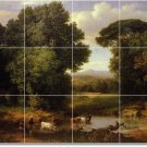 Inness Country Tile Room Dining Murals House Remodel Traditional