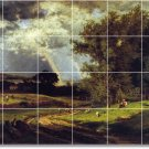 Inness Landscapes Wall Kitchen Tiles Traditional Home Decorating