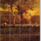 Inness Landscapes Mural Kitchen Floor Decorate Construction Home