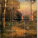 Inness Landscapes Wall Murals Bedroom Tile Home Decorating Ideas