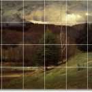 Inness Village Wall Tile Room Murals Contemporary House Renovate