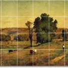 Inness Country Wall Tile Murals Room Contemporary Renovate House