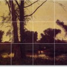 Inness Landscapes Backsplash Mural Kitchen Tile Residential Art