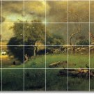Inness Landscapes Tile Mural Room Dining Remodeling House Ideas