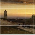 Inness Landscapes Mural Dining Tile Room Ideas House Remodeling